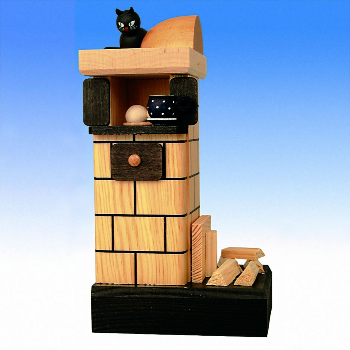 r ucherofen kachelofen natur rauchend mit holz. Black Bedroom Furniture Sets. Home Design Ideas