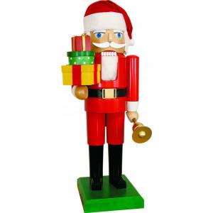 Nussknacker Santa mit Geschenken, 120 cm