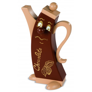 Moderne Räucherfigur Chocolate