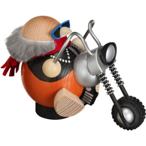 Kugelräuchermännchen Hobby - Biker