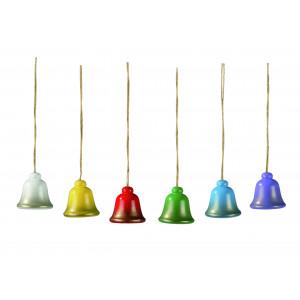 Osterschmuck Glocken, 6-teilig