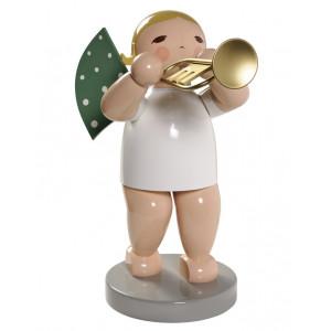 Engel gross mit Trompete, 60 cm