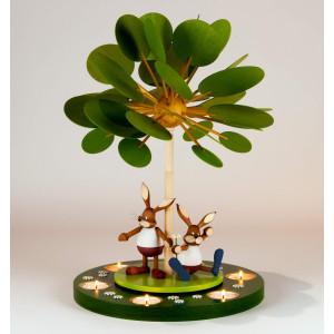 Teelichtpyramide Jahreszeitenbaum Frühlingserwachen