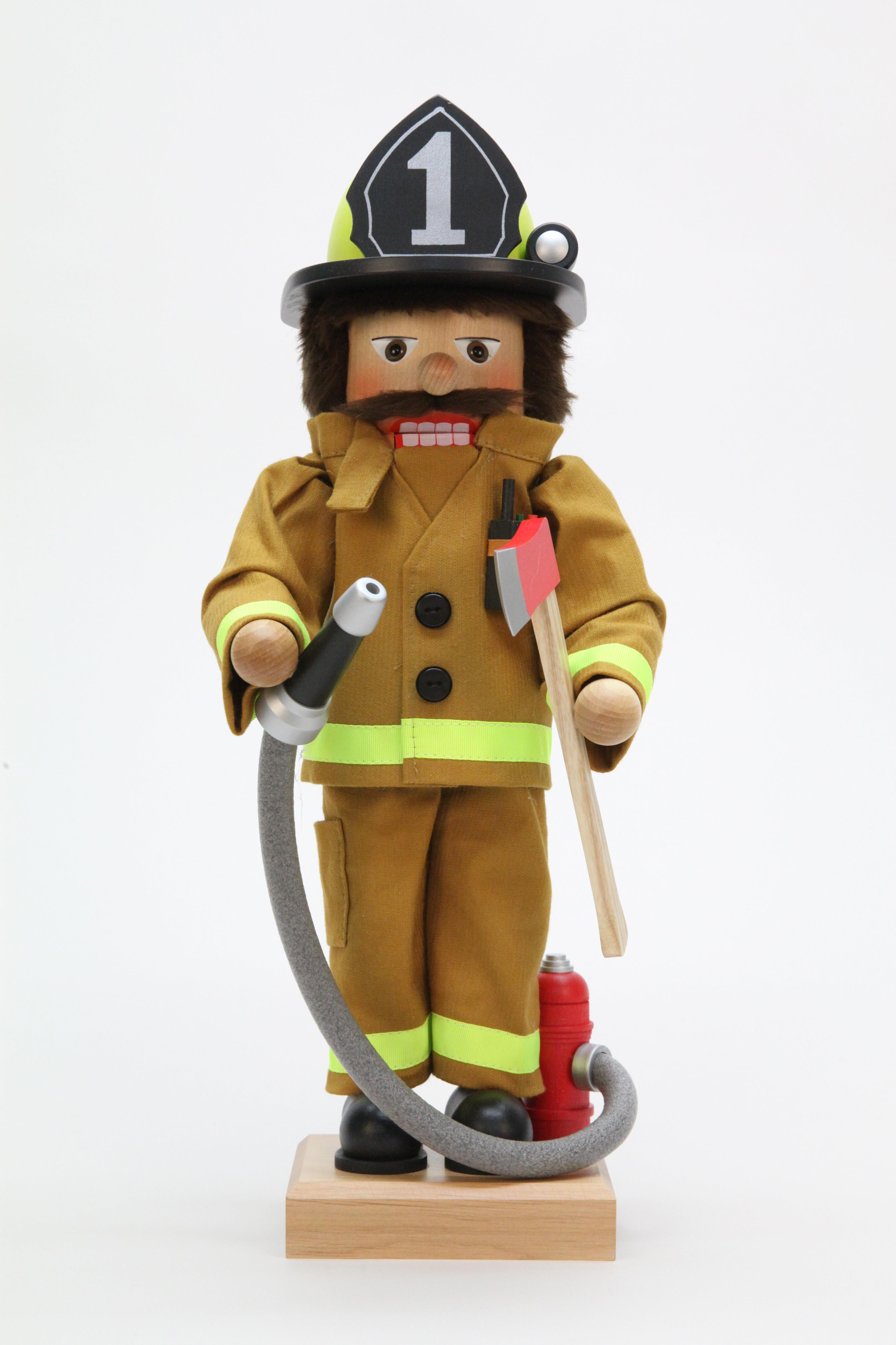 Nussknacker Feuerwehrmann