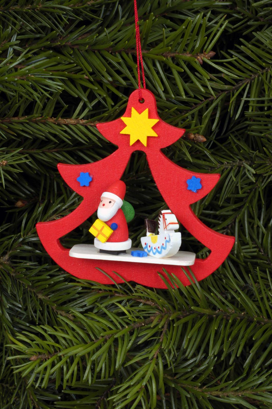Baumbehang Nikolaus im Baum