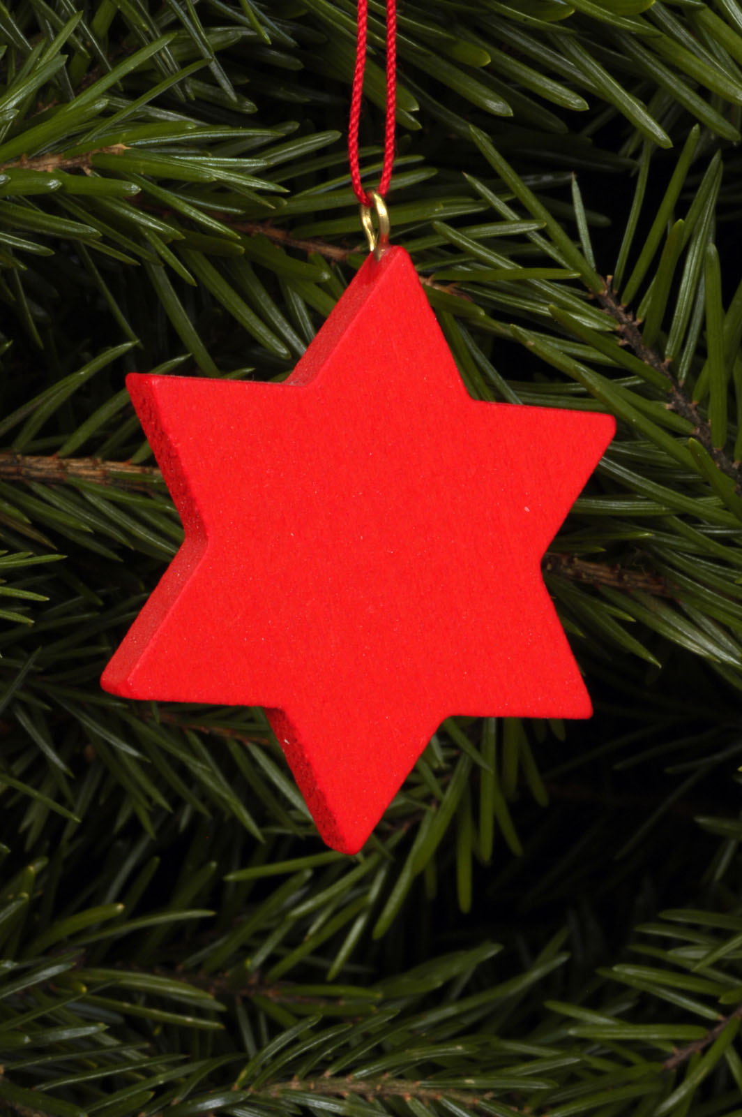 Baumbehang roter Stern