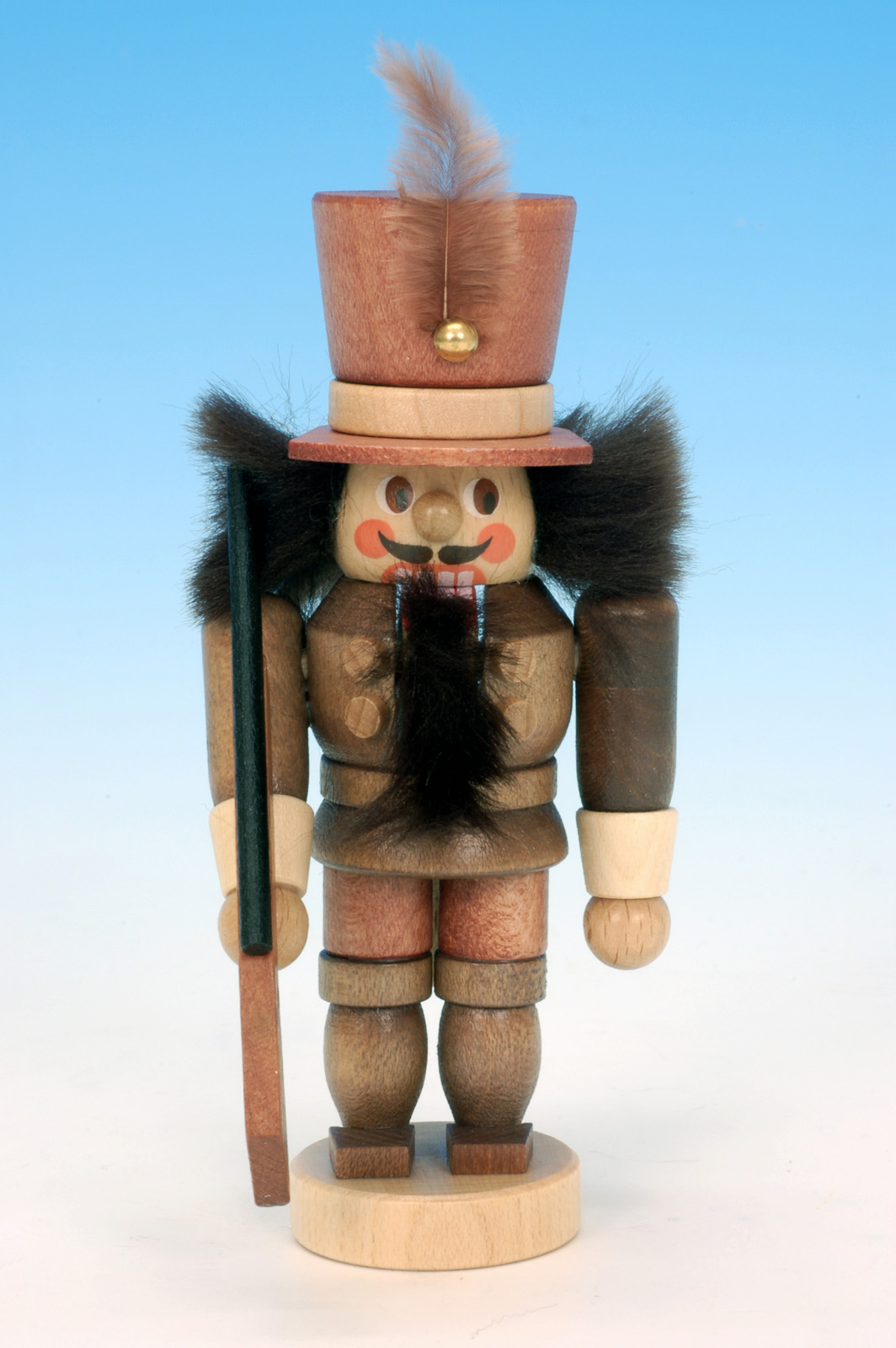 Nussknacker Mini Soldat natur