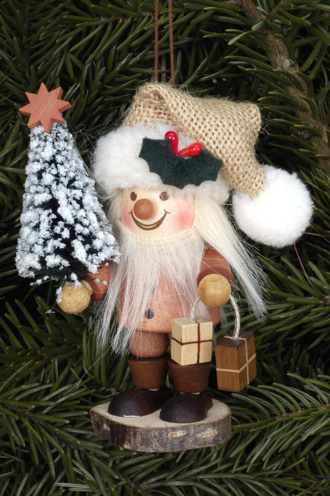 Baumbehang Strolch Weihnachtsmann natur