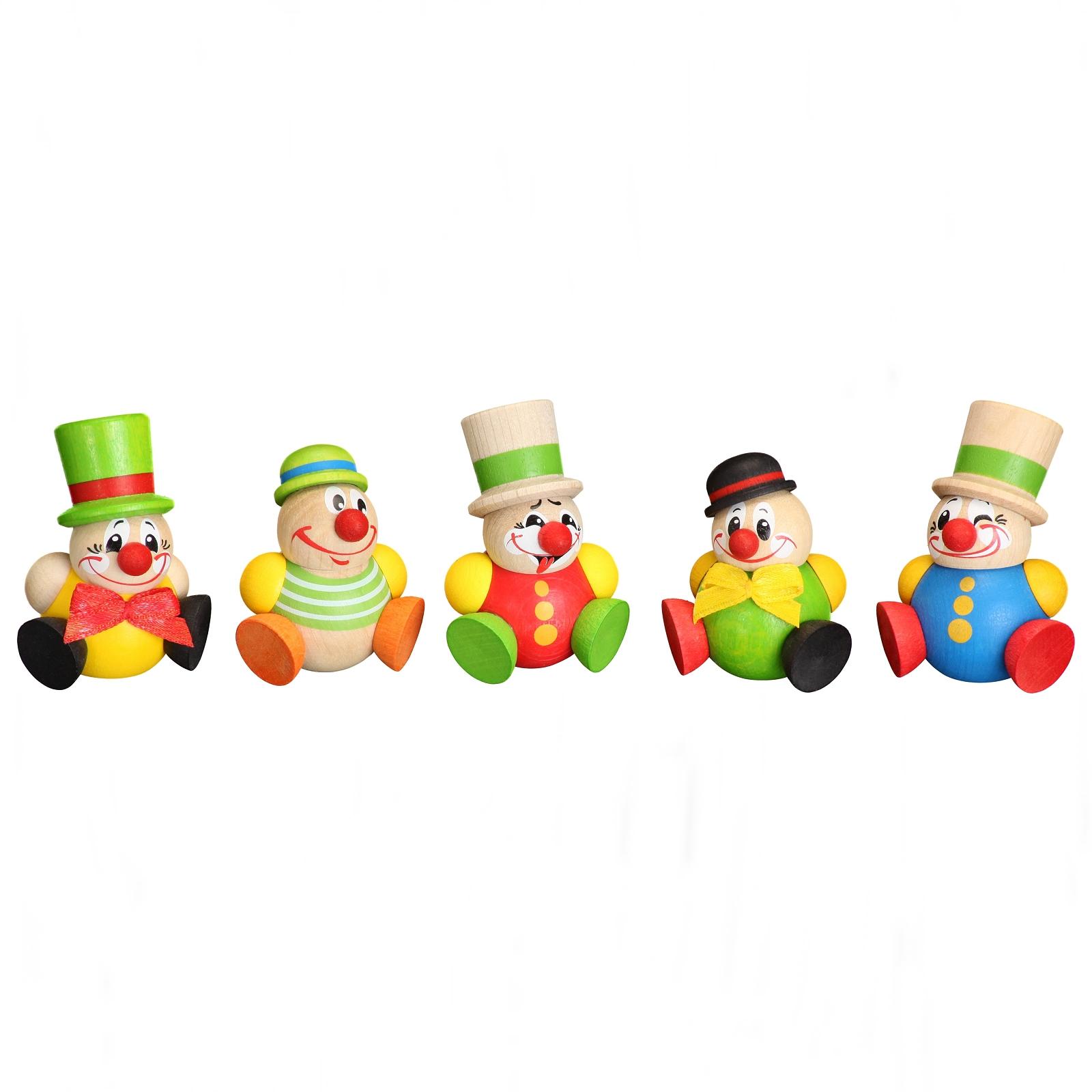 Kugelfigur Cool-Man Clowny, 5-teilig