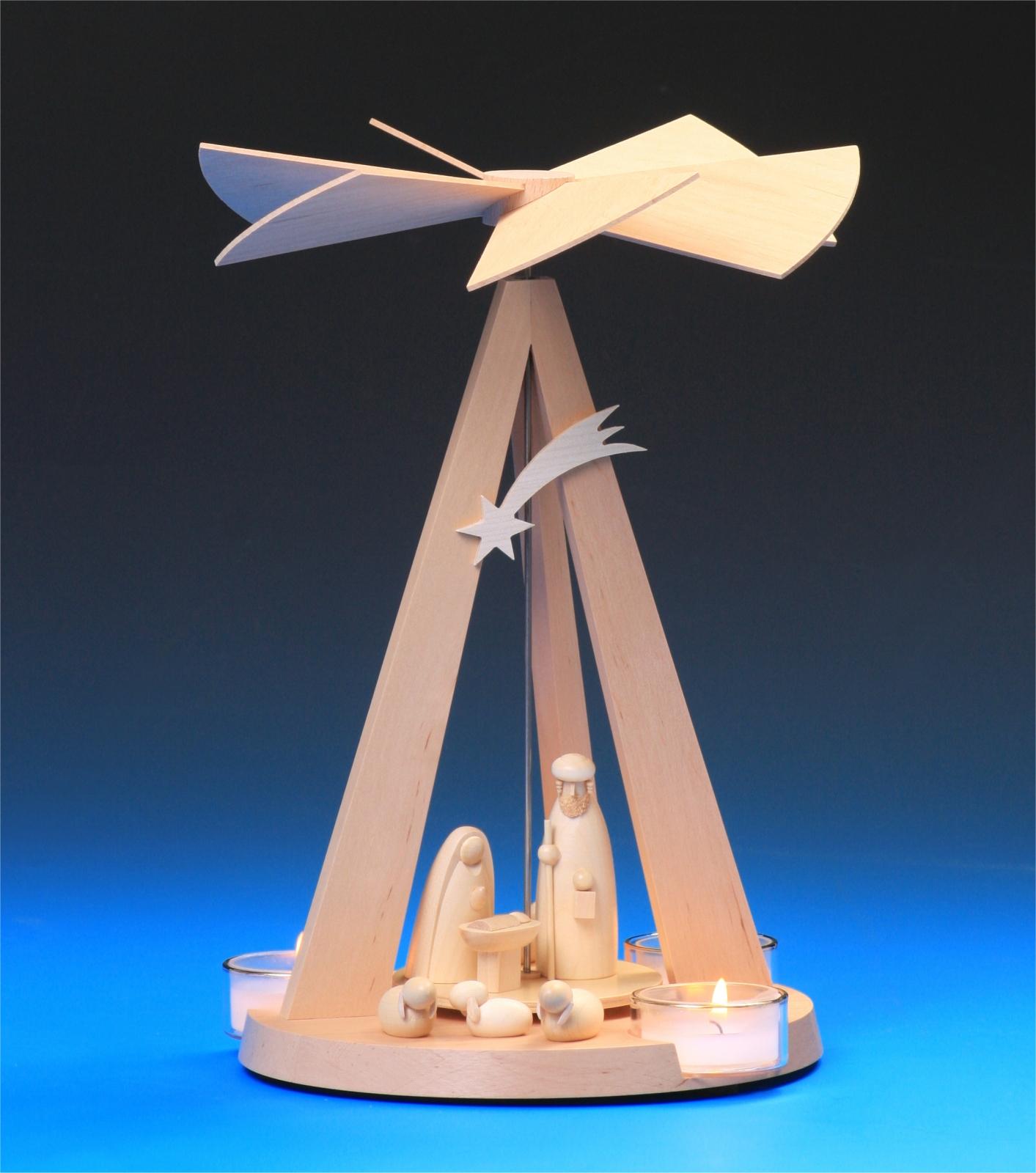 Pyramide Mini Delta natur Christi Geburt
