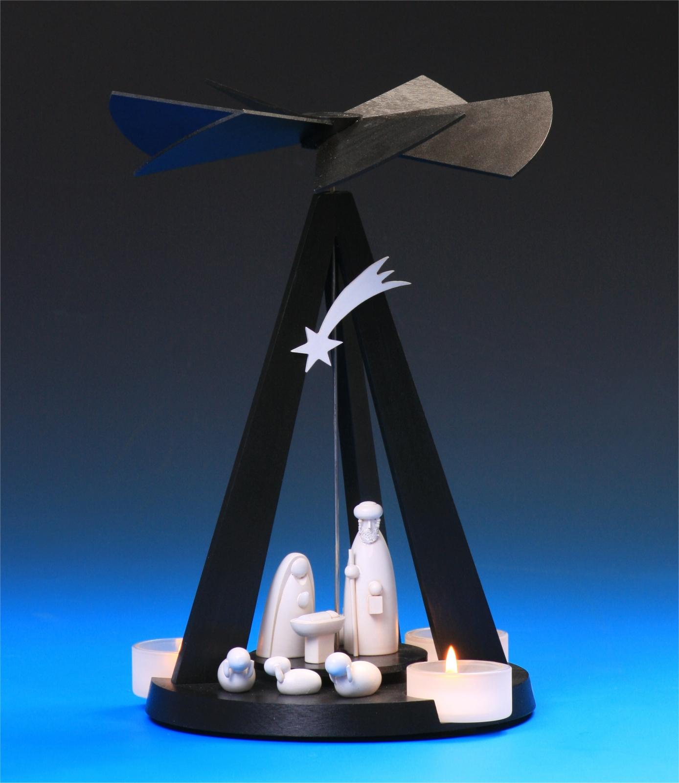 Pyramide Mini Black Delta Christi Geburt
