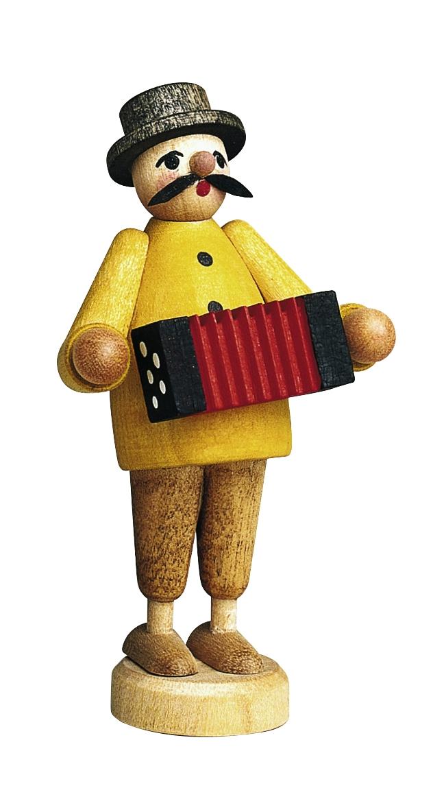Musiker Ziehharmonika