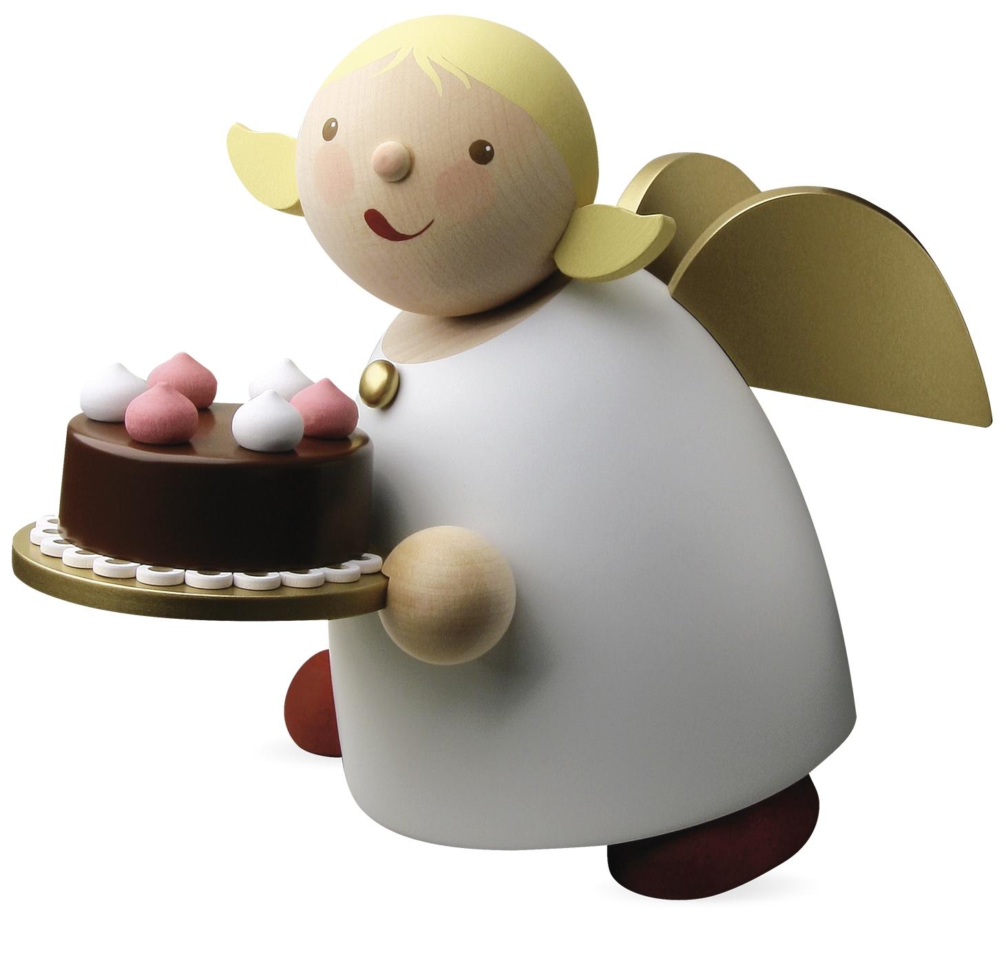 Schutzengel mit Torte, groß