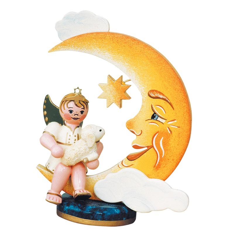Engelbub Mond mit Schäfchen