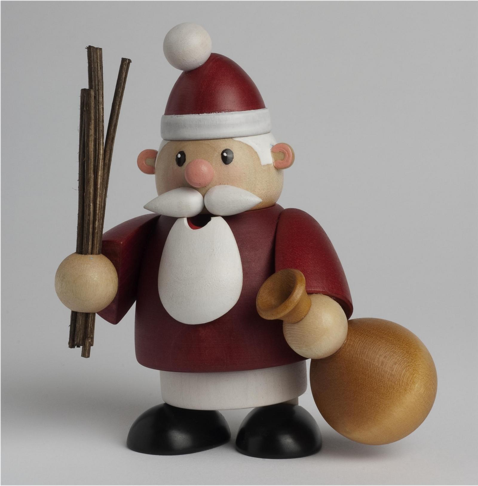 Räuchermännchen Weihnachtsmann mini