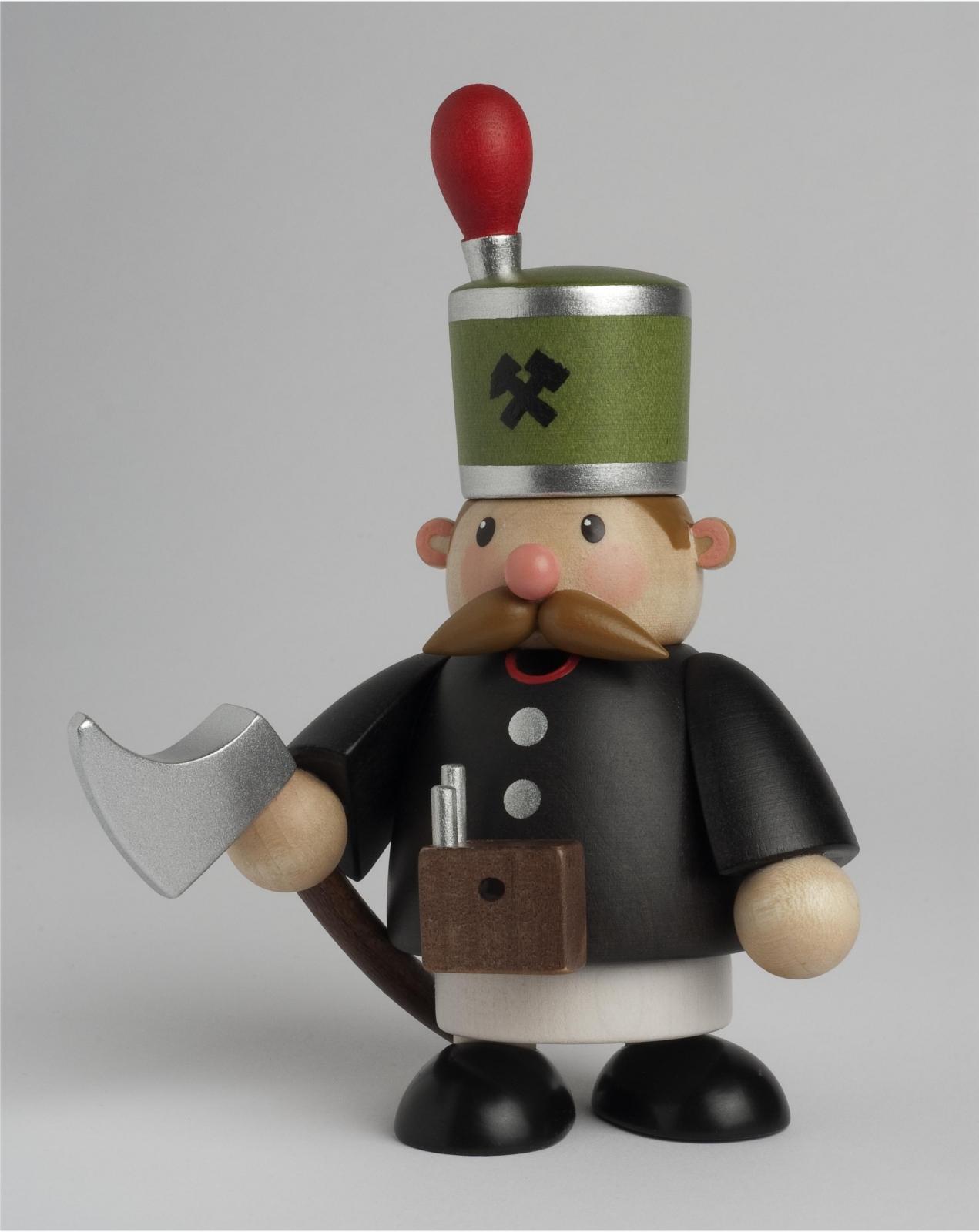Räuchermännchen Bergmann mini