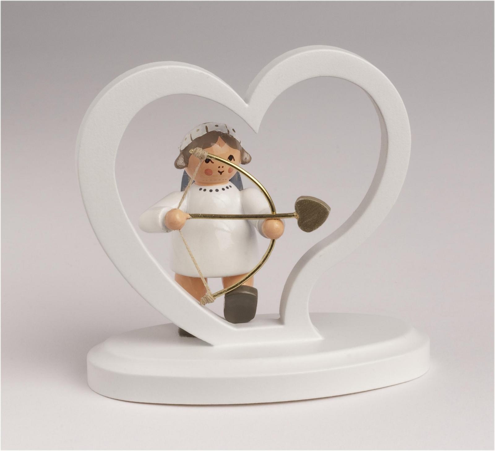 Engelbuchstabe Herz Amor
