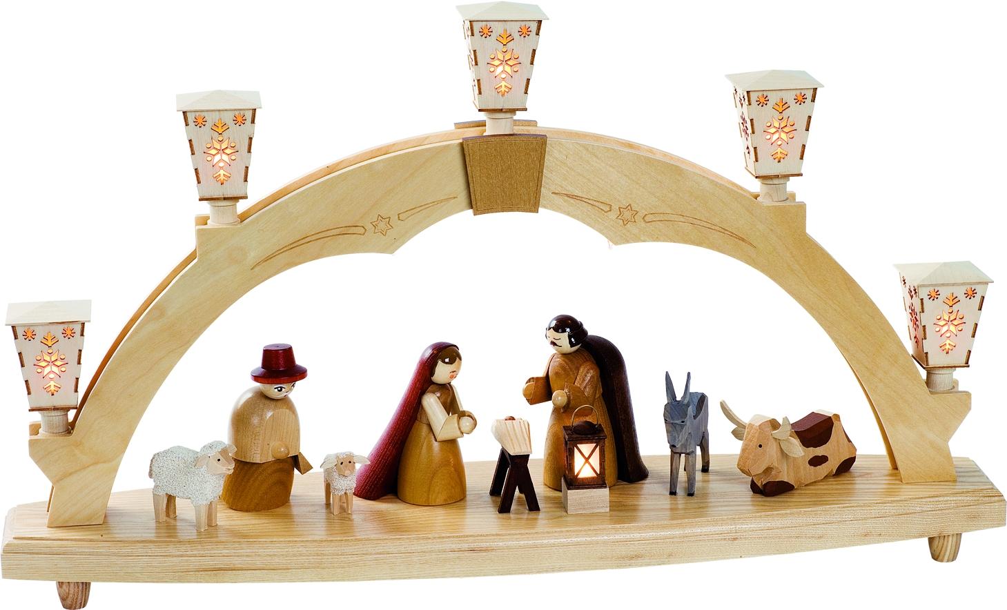 Schwibbogen Motiv Geburt Christi