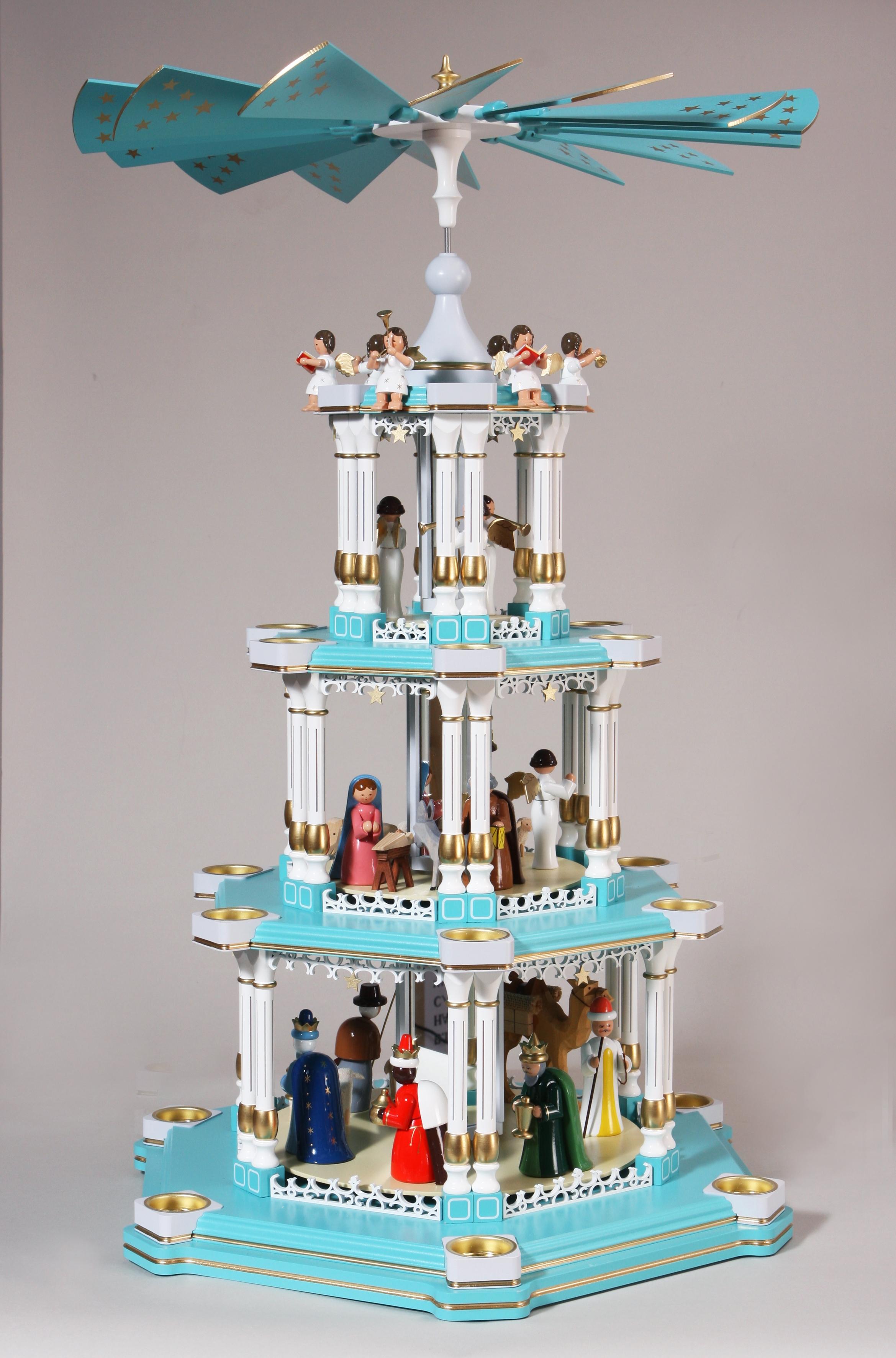 Barocke Spiegelpyramide Christi Geburt