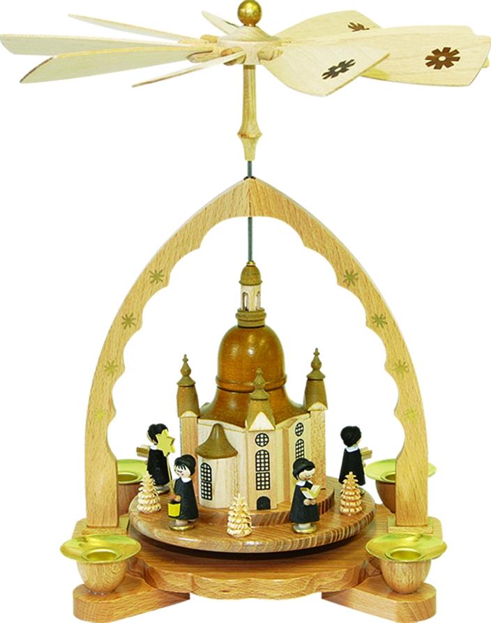 Pyramide Frauenkirche mit Kurrende