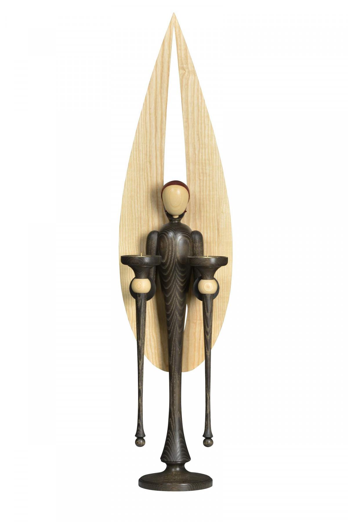 moderner deko engel 106 cm erzgebirgskunst drechsel. Black Bedroom Furniture Sets. Home Design Ideas