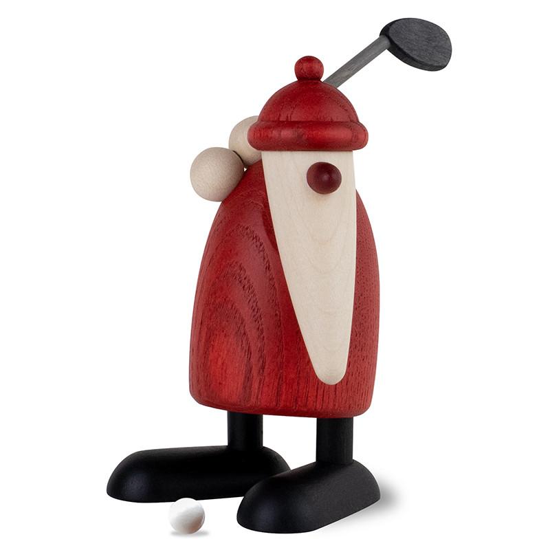 weihnachtsmann mit golfschl ger oben neuheiten 2019. Black Bedroom Furniture Sets. Home Design Ideas