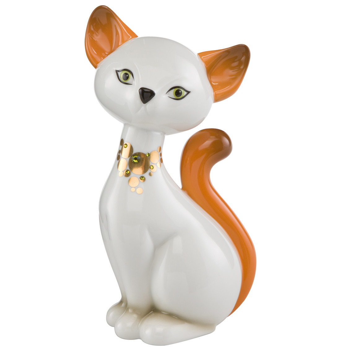 Kitty De Luxe Katze Turkish Van Cat 18 0 Cm Erzgebirgskunst Drechsel
