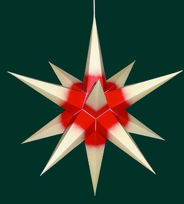 weihnachtsstern f r innen chamois rot erzgebirgskunst drechsel. Black Bedroom Furniture Sets. Home Design Ideas