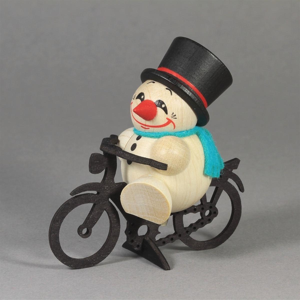 cool man auf fahrrad erzgebirgskunst drechsel. Black Bedroom Furniture Sets. Home Design Ideas