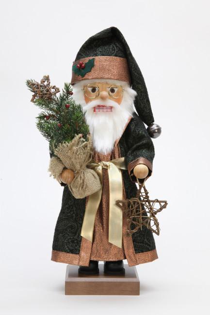 Nussknacker Weihnachtsmann mit Tannenbaum
