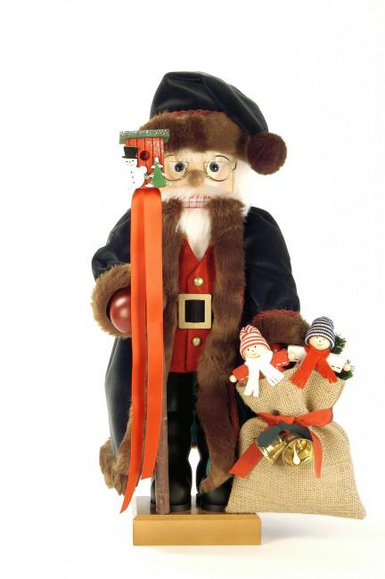 Nussknacker Weihnachtsmann tannengrün Ulbricht