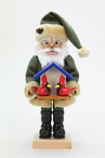 Nussknacker Weihnachtsmann Vogelfreund