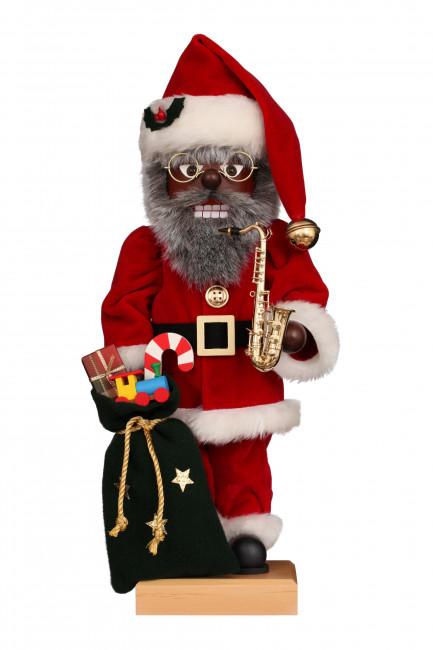 Nussknacker Weihnachtsmann Jazz