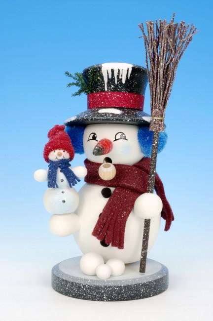 Räuchermann Schneemann Snowy