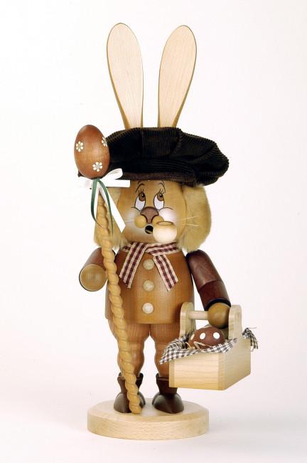 Räuchermännchen Wichtel Hase mit Eierkorb