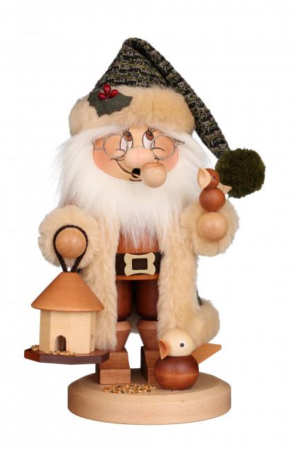 Räuchermännchen Wichtel Weihnachtsmann Vogelfütterung