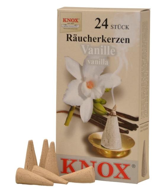Räucherkerzen  - Gewürze - Vanille 35g, 24 Stk. Packung