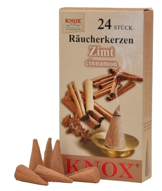 Räucherkerzen  - Gewürze - Zimt 35g, 24 Stk. Packung