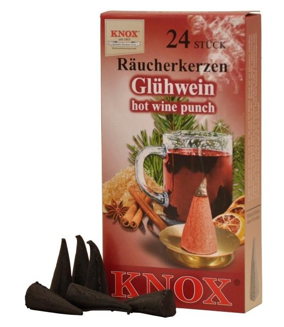 Räucherkerzen  - Gewürze - Glühwein 35g, 24 Stk. Packung