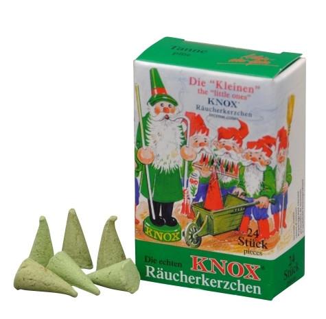 Räucherkerzen KNOX Minis Tannenduft, 24 Stück