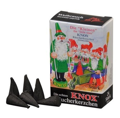Räucherkerzen KNOX Minis Weihrauchduft, 24 Stück
