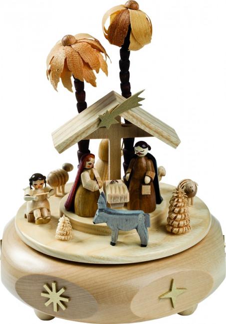 Spieldose Christus Geburt