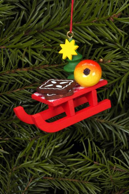 Baumbehang Weihnachtsschlitten
