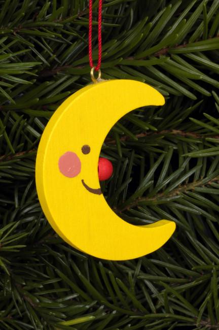 Baumbehang Mond mit Gesicht klein