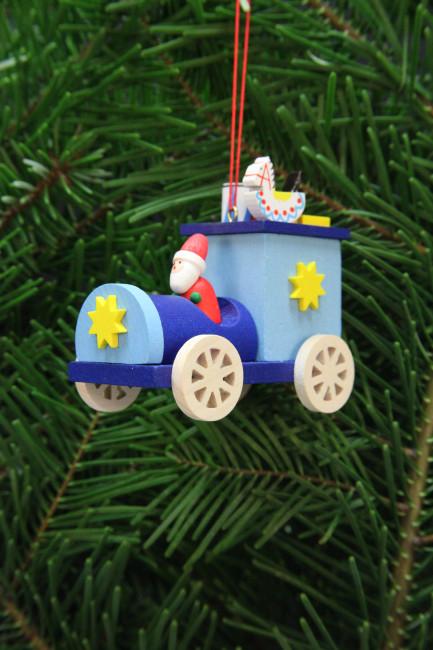 Baumbehang Weihnachtsmann im Truck