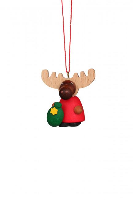 Baumbehang Elch Weihnachtsmann
