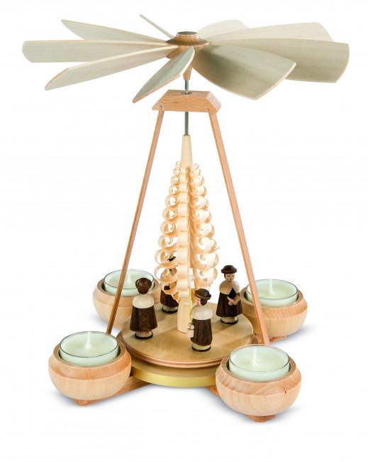 Teelichtpyramide Kurrende