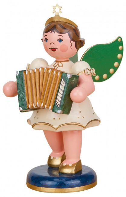 Engel mit Akkordeon, 10 cm