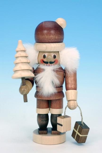 Nussknacker Mini Weihnachtsmann natur