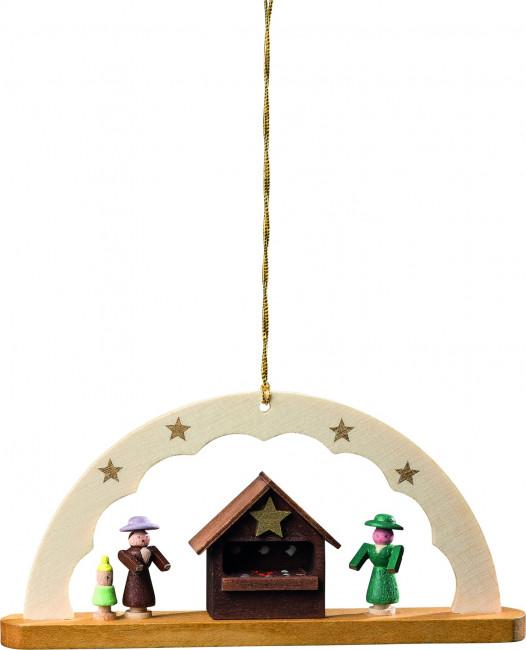 Baumbehang Schwibbogen Weihnachtsmarkt